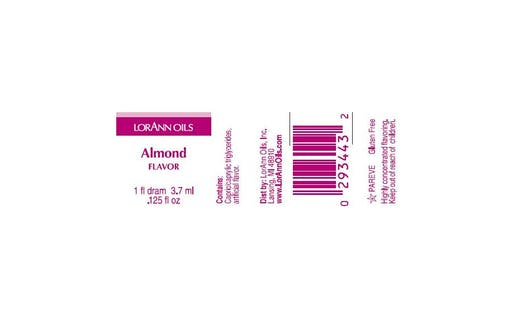 Arôme extra fort - Amande - 3.7 ml