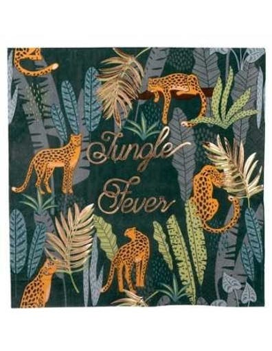 16 Serviettes Jungle Fever
