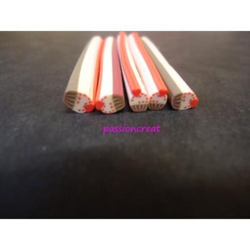 5 Cane Cupcake 50mm De Long