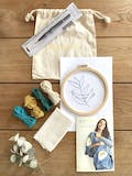 Kit DIY Punch Needle Feuille