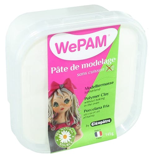 Porcelaine froide à modeler WePam 145 g Blanc