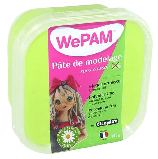 Porcelaine froide à modeler WePam 145 g Anis
