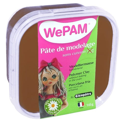 Porcelaine froide à modeler WePam 145 g Chocolat