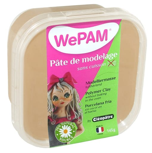 Porcelaine froide à modeler WePam 145 g Taupe