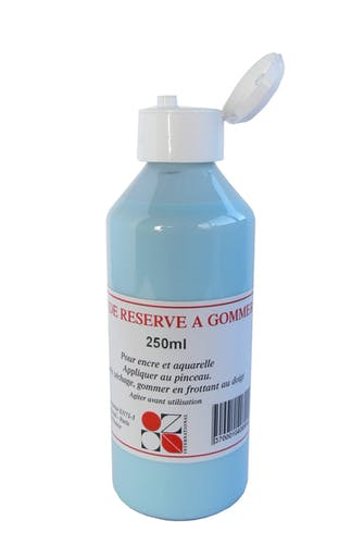 Fluide de réserve à gommer Drawing Gum 250 ml