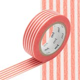 Masking Tape MT 1,5 cm Ligne orange