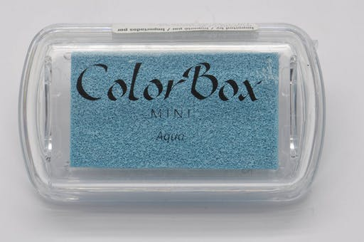Encreur Mini ColorBox aqua