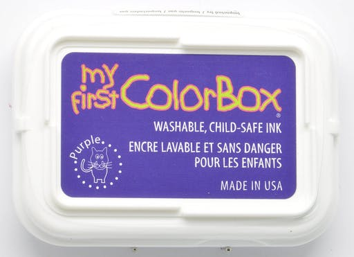 Encreur My First ColorBox pourpre