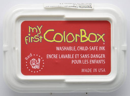 Encreur My First ColorBox rouge