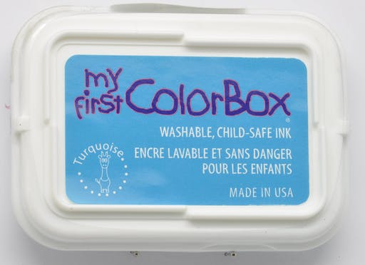 Encreur My First ColorBox turquoise