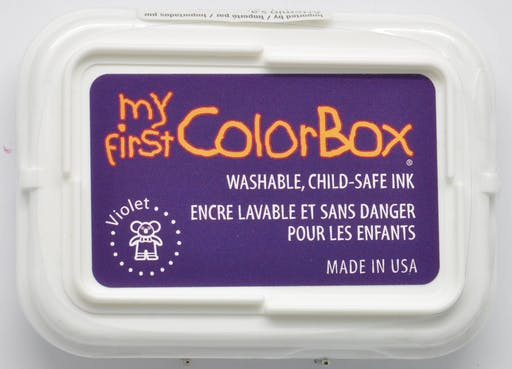 Encreur My First ColorBox violet