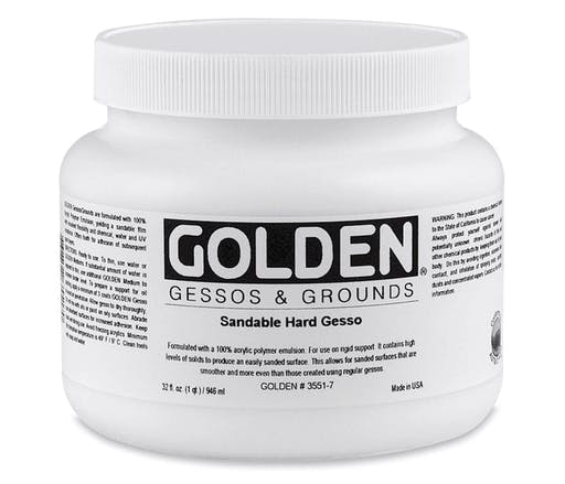 Sandable Hard Gesso 946 ml