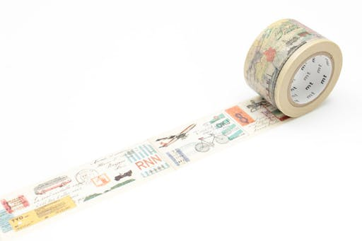 Masking Tape MT EX Voyage - travel way