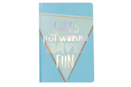 Cahier A5 couverture rigide Fun 200 pages