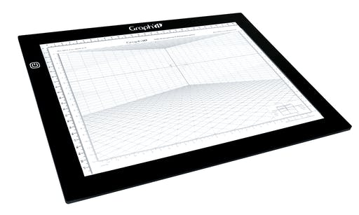 Table lumineuse Graph'it Light board LED ultra-plate A3 30x43cm