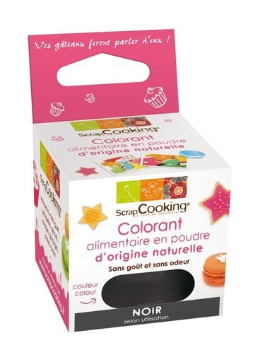 Colorant alimentaire (naturel) Noir