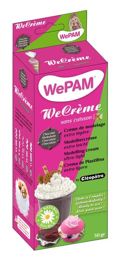 WeCreme Fausse chantilly WePam 30 gr Chocolat