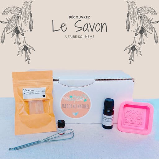 Box DIY - Savon BIO