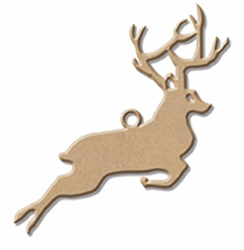 CHRISTMAS WOOD CERF