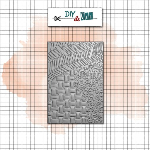 Classeur d'embossage 3D : Tangle - DIY and Cie