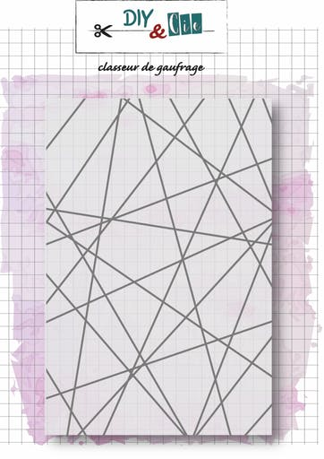 Classeur d'embossage string art DIY and Cie