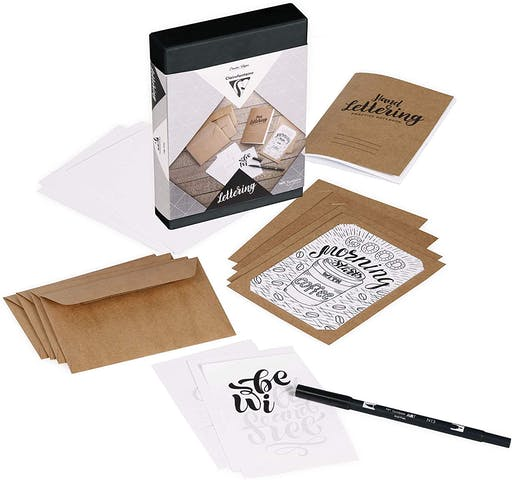 Coffret d'initiation au Hand Lettering
