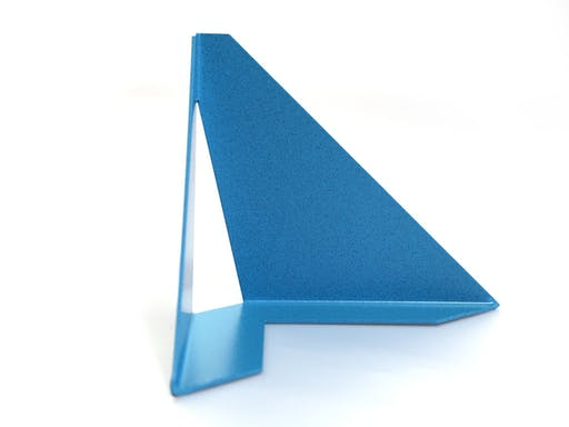 Coin d'angle TURQUOISE