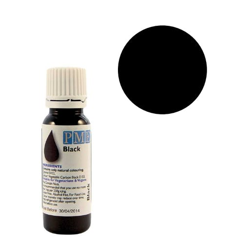 Colorant naturel liquide - noir - 25 gr