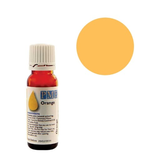 Colorant naturel liquide - orange - 25 gr