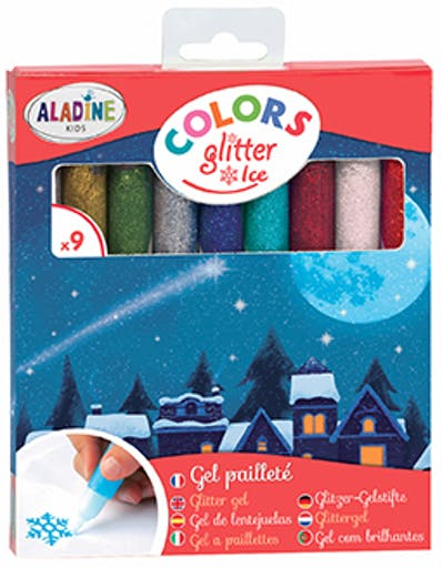 COLORS GLITTER ICE