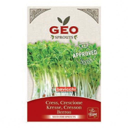 Cresson - Graines à germer bio - 35g