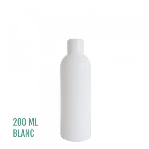 FLACON EVEREST BLANC 200ml + CAPSULE SERVICE BLANC