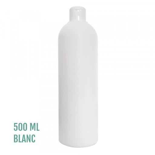 FLACON EVEREST BLANC 500ml + CAPSULE SERVICE BLANC