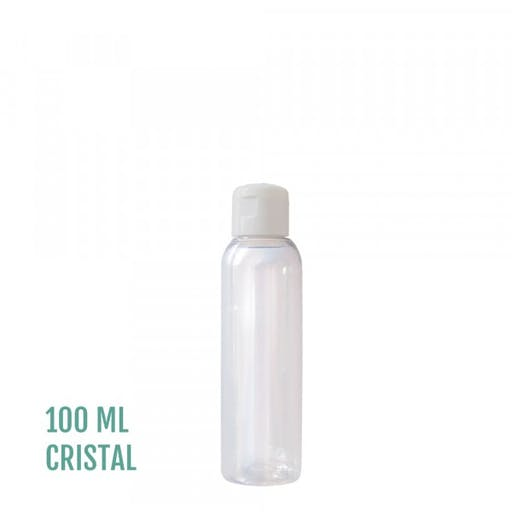 FLACON EVEREST CRISTAL 100ml + CAPSULE SERVICE BLANC