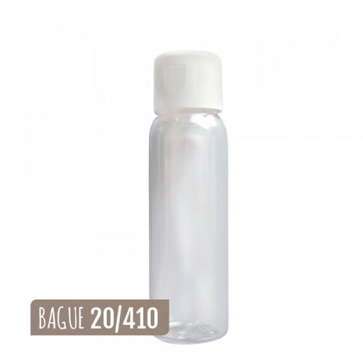 FLACON EVEREST CRISTAL 30ml + CAPSULE SERVICE BLANC