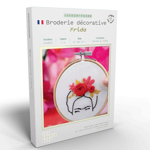 French'Kits - Broderie décorative - Frida