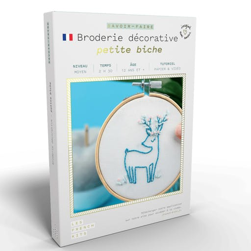 French'Kits - Broderie décorative - Petite Biche