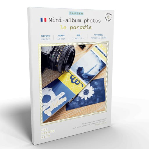 French'Kits - Mini-Albums photos - Le paradis