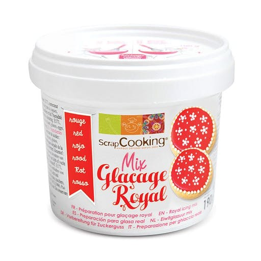 Glaçage royal rouge 190 g