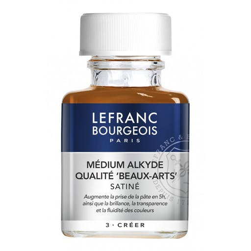 HUILE MEDIUM ALKYDE 75ML - LEFRANC BOURGEOIS