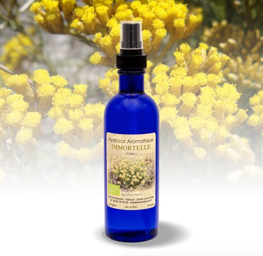 Hydrolat Aromatique 200 ml Immortelle BIO