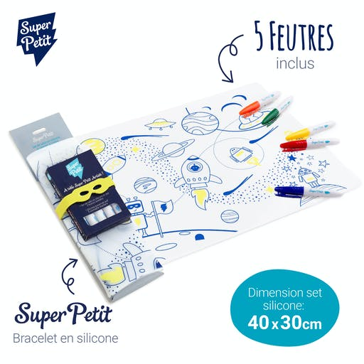 Kit Coloriage set en silicone - Hero