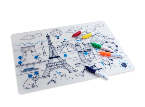 Kit Coloriage set en silicone - Paris