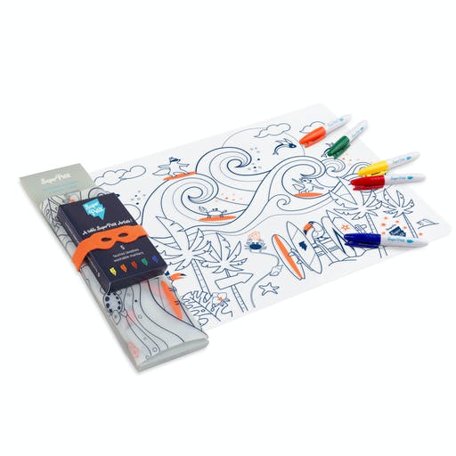 Kit Coloriage set en silicone - Surf