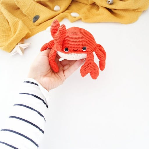 Kit Crochet DIY - Jacques le crabe