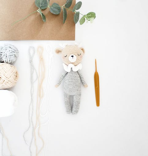 Kit Crochet DIY - Lucien le Cerf