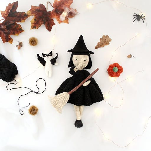 Kit Crochet DIY - Tenue d'halloween pour Suzanne