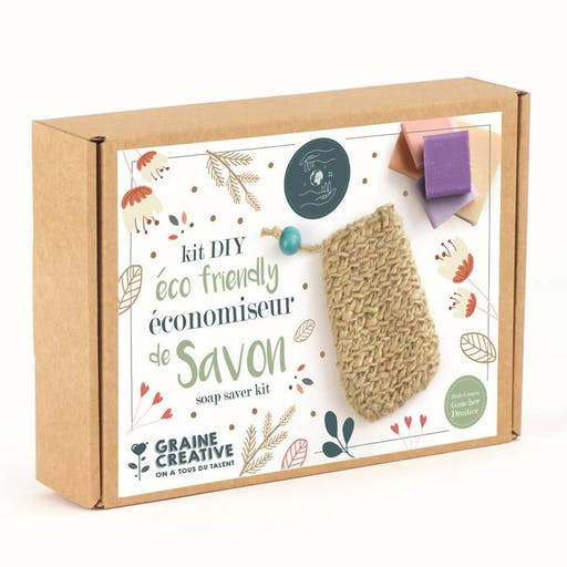 Kit DIY - Economiseur de savon en jute - Eco friendly