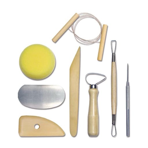 Kit d'outils poterie