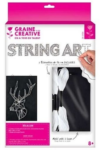 Kit String art cerf